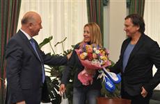 Губернатор обсудил перспективы развития бокса в регионе с чемпионкой мира Натальей Смирновой