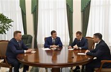Сергея Каплина представили главе региона и коллективу Арбитражного суда