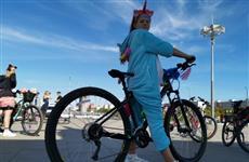 В Самаре прошел костюмированный велопробег
