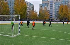 В Промышленном районе Самары открыта новая спортивная площадка