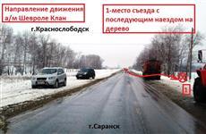 В Мордовии в ДТП водитель погиб, две пассажирки пострадали