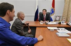 Дмитрий Азаров в День Конституции провел прием граждан