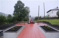 В Октябрьском районе в рамках нацпроекта благоустроены два парка
