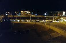 Cтритрейсеры Самары устроили ночной автопробег