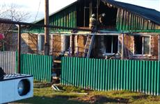 При тушении дома в Богатовском районе, где погибла женщина, нашли тело мужчины