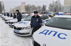 Сотрудникам ГИБДД Удмуртии вручили 24 новых патрульных автомобиля