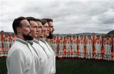 Волжский народный хор в Елховке представил новую программу