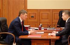Губернатор Прикамья начал серию встреч с главами объединенных территорий