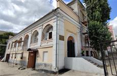 Валерий Радаев ознакомился с ходом реставрационных работ в Государственном музеи имени К.А. Федина