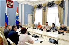 Губернатор провел встречу с представителями творческих союзов Самарской области