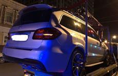 Водитель Mercedes с пропуском Губдумы отказался от медосвидетельствования
