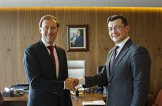 Денис Мантуров и Глеб Никитин провели рабочую встречу