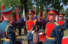 Губернатор Самарской области принял участие в зажжении Вечного огня в Любляне