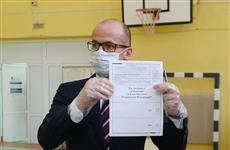 Александр Бречалов проголосовал по поправкам к Конституции РФ