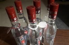 В Самарской области в июле полицейские изъяли 6 тыс. литров подпольного алкоголя