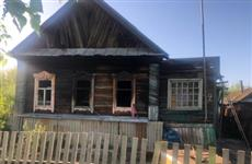 Тело ребенка найдено после тушения пожара в Октябрьске