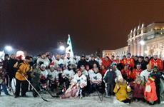 Новогодние старты на площади Куйбышева продолжаются