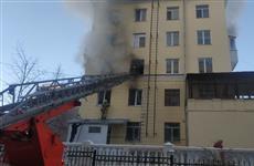 Из-за пожара в Студенческом переулке эвакуирован детский сад