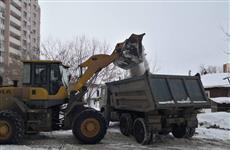 """ГЖИ контролирует уборку снега и наледи в Самаре во время """"воскресника"""""""