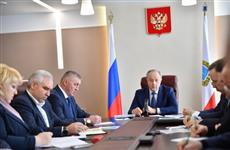 Валерий Радаев обсудил с депутатами Саратовской областной Думы ремонт дорог в этом году