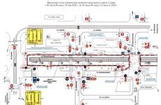 Схему движения дачных автобусов скорректировали из-за перекрытия ул. Физкультурной