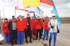 Горожане встретили участников международного марафона