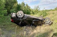 Водитель Renault съехал в кювет и погиб в Самарской области