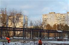 """Около """"Колизея"""" сносят мебельный рынок, мешающий строительству ул. Ташкентской"""