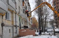 Глава Самары потребовал максимально обезопасить горожан от возможного схода снега с крыш домов
