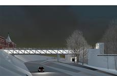 Как могло бы выглядеть новое здание Театра драмы и мост над ул. Куйбышева