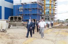 Глава Мордовии Владимир Волков осмотрел, как идет реализация проекта по комплексной компактной застройке деревни Бобылевские Выселки