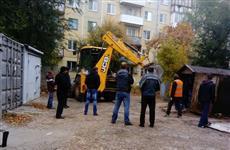 Жители Самары недовольны массовой эвакуацией гаражей