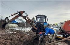 В пос. Красный Яр восстановлено водоснабжение для двух тысяч жителей