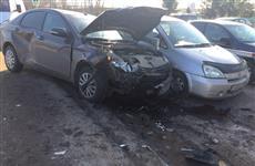 В ДТП с четырьмя машинами в Волжском районе пострадал семимесячный ребенок