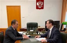 Дмитрий Азаров и Игорь Комаров обсудили основные направления работы региона