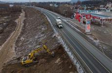 Началась подготовка к строительству моста через Сок