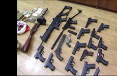 Самарец осужден за хранение 11 пистолетов, двух револьверов, пистолета-пулемета и двух ружей