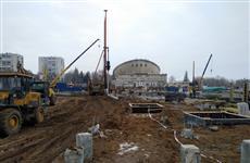 Строительство Дворца спорта на ул. Молодогвардейской планируют завершить к 2021 году