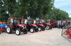 В Башкортостане начата сборка китайских тракторов YTO