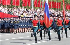 В Самаре прошел Парад Победы