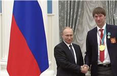 Владимир Путин наградил Василия Кошечкина орденом Дружбы