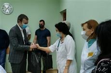 Евгений Серпер оказал поддержку врачам сызранской горбольницы