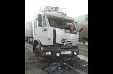 В Кинельском районе произошло ДТП с четырьмя грузовиками