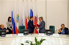 """Саратовская область подписала соглашение о сотрудничестве с """"Рособоронэспортом"""""""