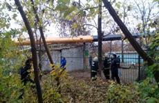На пристрой детсада в Нижнем Новгороде упал кран