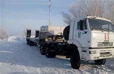 Работы по расчистке дорог в Саратовской области ведутся круглосуточно