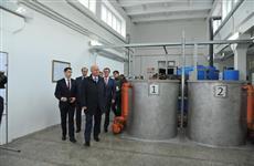 Николай Меркушкин посетил отрадненскую НФС, где завершился первый этап реконструкции