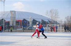 В Самарской Олимпийской деревне прошли выступления и мастер-класс по фигурному катанию