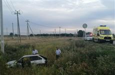 В Ставропольском районе погиб водитель легковушки, съехавшей в кювет