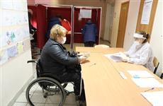 В Нижегородской области инвалидов-колясочников доставляет на выборы социальное такси